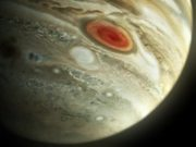 Jupiter Closeup Showing the Shoemaker-Levy 9