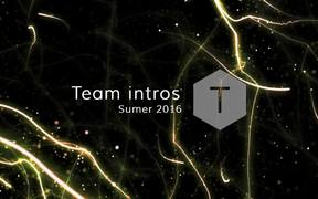 Summer 2016 - Team Intros