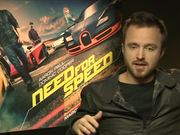 Aaron Paul Need for Speed Interview