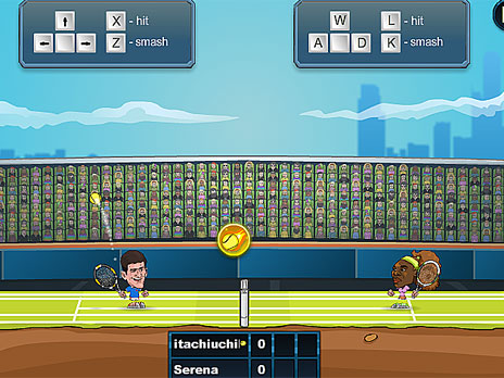 Tennis Legends 2016 Game Play Online At Y8 Com