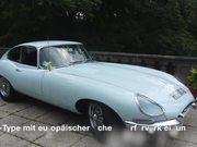 Jaguar-E-Typ - oldtimer-veranstaltung