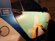 Painted Car2Go by Kristin Freeman