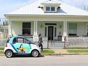 Painted Car2Go by Kristin Freeman