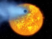 Evaporating Extrasolar Planet from Video-5