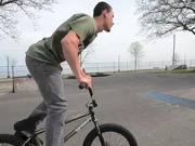 Paul Barnum back on the bike