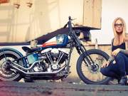Harley Davidson Custom Bike, Hard Work
