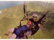 Flying Over Ohrid Lake