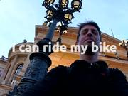 I can ride my bike - Critical Mass - Frankfurt