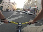 Test timelapse on bike - morning
