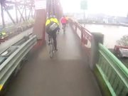 Portland bike rush hour