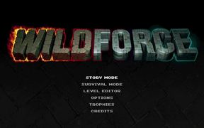 Wildforce - A loveletter to classic arcade games
