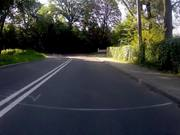 Bike training time lapse GoPro test