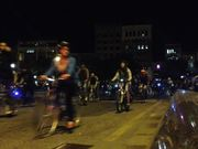 Boston Bike Party Ride By # 1 - October 2014