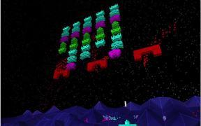 Voxel Invaders Gameplay