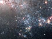 Panning on NGC 4449