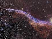 Zooming on the Veil Nebula