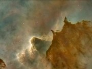 Panning on the Carina Nebula