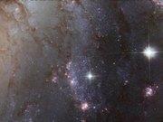 Panning on NGC 1672-2