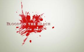 Blood on the Beach Zombie Walk