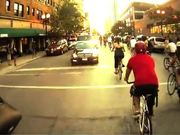 First person Critical Mass Chicago