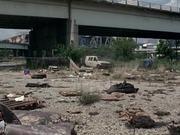 Walking Dead WTF - Falling Van