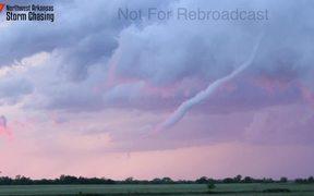 Rope Tornado In Kansas