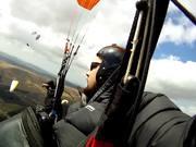 Amazing Paragliding Flight