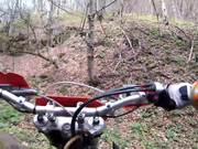 Riding Toward Magura Peak