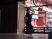 Traditional Japanese Fan Dance
