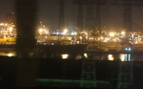 Ships on Pier
