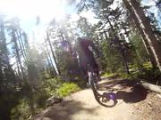 Winter Park Trestle Bike Park Kid Takes a Dirt