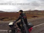 Riding the Bike in Anatolia Winter 2014