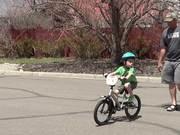 Evan's New Bike