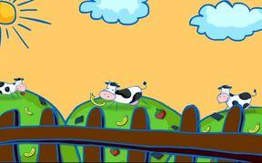 Happy Cow Ad
