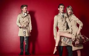 Burberry Ad: Romeo Beckham Campaign