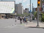Saskatoon Protected Bike Lanes