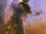 Panning on the Eagle Nebula