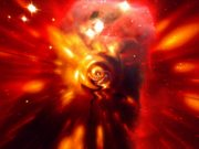 18 - sees magnetic monster in erupting galaxy