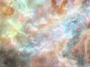 Panning on the Tarantula Nebula
