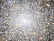 Panning across star cluster Messier 15