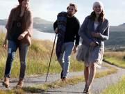 Winter style showcased on the beautiful Scottish