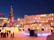 Chelyabinsk in Time Lapse 2. Winter Ver