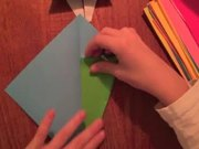 How to Make an Origami Christmas Tree
