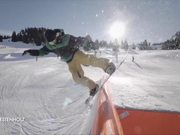 Snowpark Gstaad - Snowboards and Mountain Rides