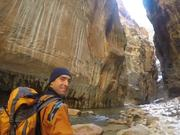 Hiking The Narrows in Winter