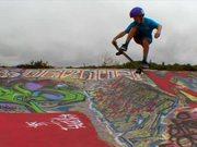 Skateboarding At Santa Cruz Davenport