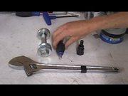 Fixed Gear Bike. Installing Spline Drive Cranks