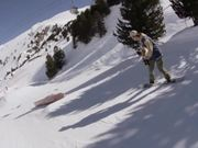 Snowpark Obergurgl - March Snowboarding