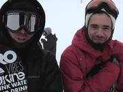 The Park - Quebec Stairs Part 1 - Snowboard
