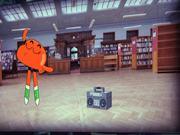 Cartoon Network. Dancing Goldfish